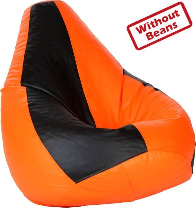 Comfy Bean Bags XL Tear Drop Bean Bag Cover  (Without Beans)