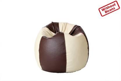 Comfy Bean Bags XXL Tear Drop Bean Bag Cover  (Without Beans)