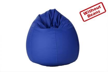 Comfy Bean Bags XL Tear Drop Bean Bag Cover  (Without Beans)