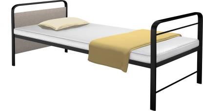 CAMABEDS Benne Metal Single Bed