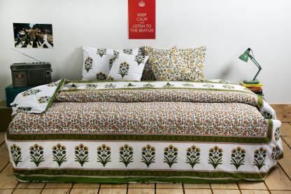 Ocean Collection Mughal Print Cotton Bedding Set