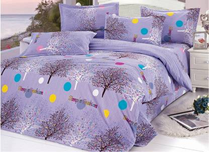 Story@home Polycotton Double Printed Bedsheet