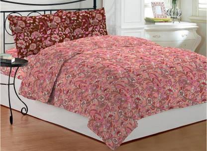 Bombay Dyeing Polycotton Single Printed Bedsheet