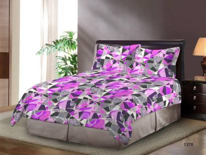 Bombay Dyeing 120 TC Cotton Double Floral Bedsheet