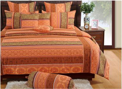SWAYAM 180 TC Cotton Double Printed Bedsheet