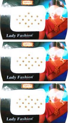 Lady FASHION Amarpali Crystals 2112201602 Forehead Gold Bindis