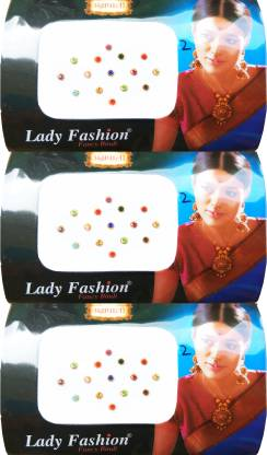Lady FASHION Amarpali Collection 1912201602 Forehead Multicolor Bindis