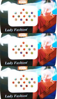Lady FASHION Amarpali Collection 1912201607 Forehead Multicolor Bindis