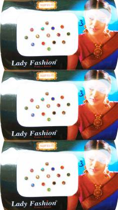 Lady FASHION Amarpali Collection 1912201603 Forehead Multicolor Bindis