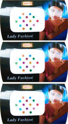 Lady FASHION Amarpali Collection 1912201605 Forehead Multicolor Bindis