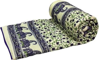 Bazarvilla Floral Single Comforter