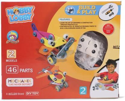 MITASHI Hobby Lobby Build and Play 2 Mechanix Set