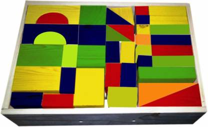 Kinder Creative Building Blocks (60 Pcs)