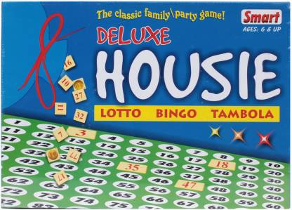 SMART Deluxe House Party & Fun Games Board Game