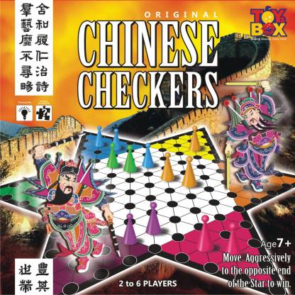 Toysbox Chinese Checkers Strategy & War Games Board Game