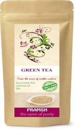 Pramsh Pramsh Premium Quality Green Tea - 100% Pure, Natural & Herbal Leaves