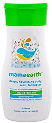 MamaEarth Deeply Nourishing Body Wash for Babies