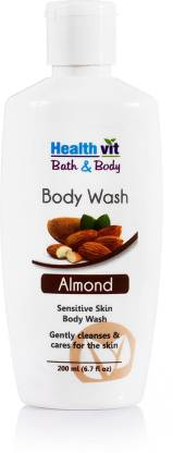 HealthVit Bath & Body Moisturizing Almond Bodywash