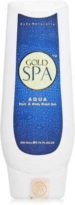 Gold Spa Aqua Hair And Body Wash Gel