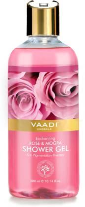 VAADI HERBALS Enchanting Rose & Mogra Shower Gel