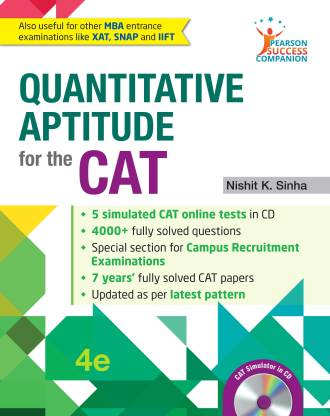 Quantitative Aptitude for the CAT 4 Edition