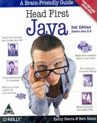 Head First Java: A Brain-Friendly Guide (Covers Java 5.0) 2nd Edition (English, Paperback, Kathy Sierra) 2nd Edition