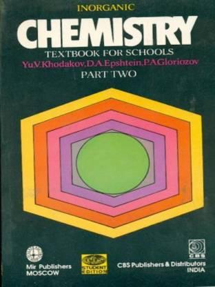 Inorganic Chemistry, Part II