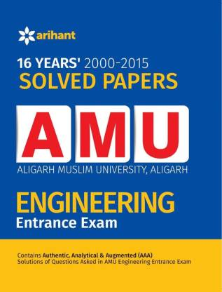 16 Years' Solved Papers for AMU Engineering Entrance Exam 5 Edition