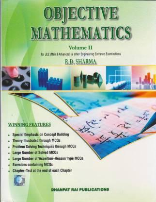 Objective Mathematics (Two Vol Set) 4/e PB