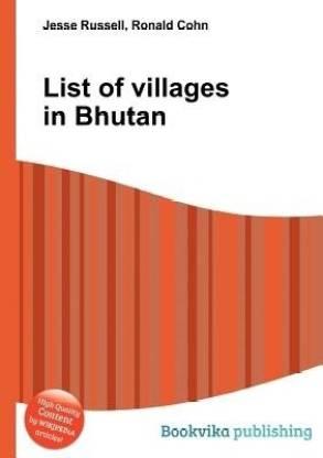 List of Villages in Bhutan