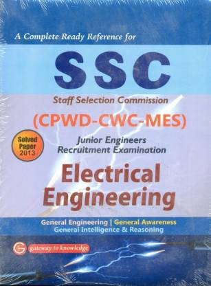SSC (CPWD-CWC-MES) Junior Engineers Recruitment Examination Electrical Engineering