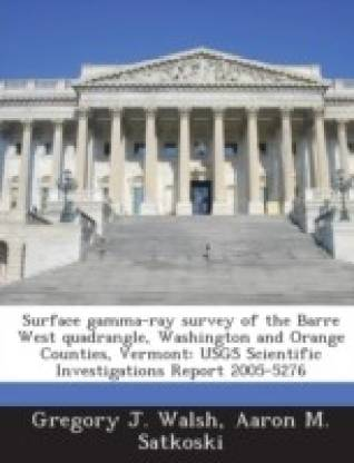 Surface Gamma-Ray Survey of the Barre West Quadrangle