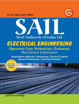 SAIL Electrical Engineering Operator Cum Technician (Trainees) - Operator Cum Technician (Trainees) Recruitment Examination