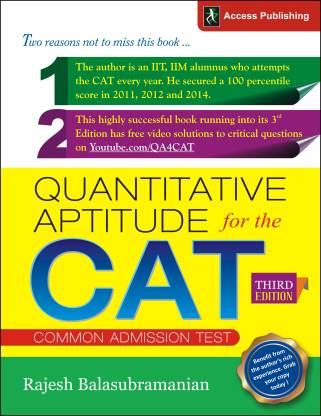 Quantitative Aptitude for the CAT 3 Edition