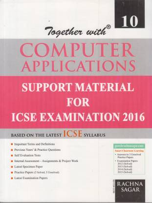 Together with Computer Applications for Icse Students (Class - X)