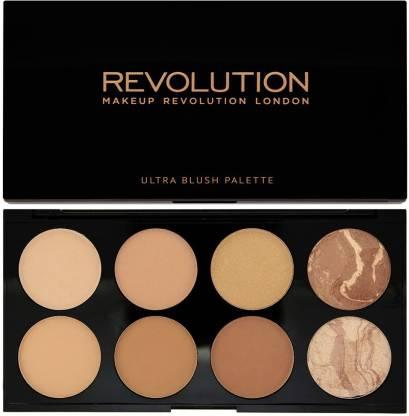 Makeup Revolution Blush & Contour Palette All About Bronzed