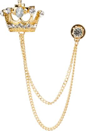 KNIGHTHOOD Swarovski Crown Brooch