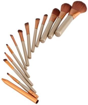 VibeX ™ 12 PCS/lot Professional Makeup Brush Set Bridal Choice