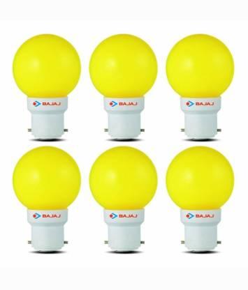 BAJAJ 0.5 W Standard B22 LED Bulb