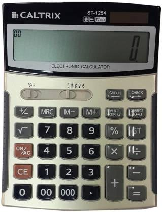 Caltrix ST-1254 Basic  Calculator