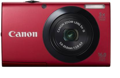 Canon A3400 IS Point & Shoot Camera