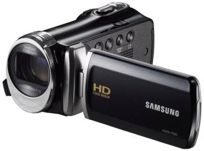 """SAMSUNG F90 Black Camcorder With 2.7"""" Lcd Screen And Hd Video Recording Camcorder Camera"""