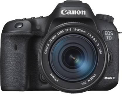 Canon EOS 7D Mark II (Kit II Body with EF-S15 - 85 mm f3.5-5.6 IS USM) DSLR Camera