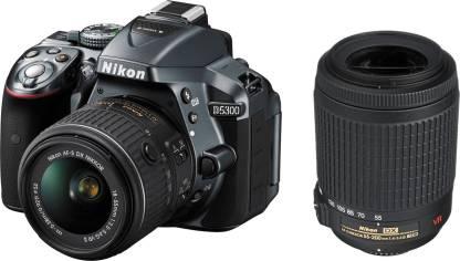 NIKON D5300 DSLR Camera (Body with D-Zoom Kit II Body with AF-P DX NIKKOR 18-55 mm F/3.5-5.6G VR + AF-S DX NIKKOR 55-200 mm F/4-5.6G ED VR II)
