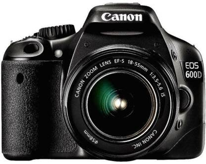 Canon EOS 600D DSLR Camera (Body with EF-S 18-55 mm IS II Lens)