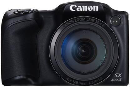 Canon PowerShot SX400 IS Point & Shoot Camera