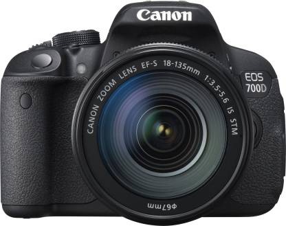 Canon EOS 700D DSLR Camera (Body only)