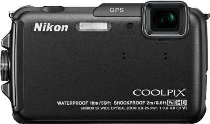 NIKON AW110 Waterproof Point & Shoot Camera