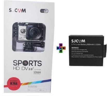 SJCAM Sjcam Sj 5000 Wifi Silver _2 Sjcam 5000 Wifi 0002 Sports & Action Camera