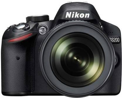 NIKON D3200 DSLR Camera (Body with AF-S 18-105 mm VR Lens)